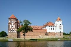 城堡Mir,白俄罗斯 免版税库存图片