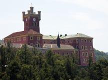 城堡mirov 免版税库存图片