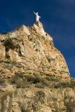 城堡monteagudo 库存照片