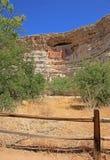 城堡montezuma纪念碑国民 免版税图库摄影
