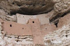 城堡montezumas 免版税图库摄影