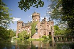 城堡moyland 库存照片