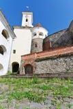 城堡mukachevo 库存图片