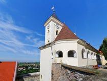 城堡mukachevo 免版税图库摄影