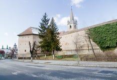 城堡mures targu 图库摄影