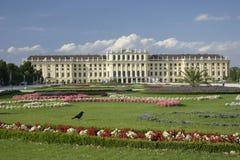 城堡nbrunn sch 库存照片