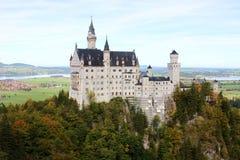 城堡neuschwanstein新的schloss石天鹅 库存图片