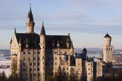 城堡neuschwanstein 库存图片