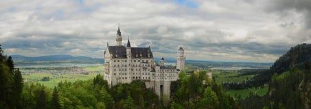 城堡Neuswanstein 库存照片