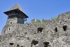 城堡nevitsky废墟 库存照片