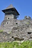 城堡nevitsky废墟 免版税库存图片