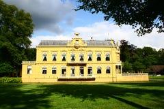 城堡Nienoord,韭葱,格罗宁根,荷兰 免版税库存图片
