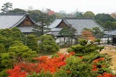 城堡nijo 图库摄影
