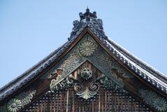 城堡nijo ninomaru宫殿 库存图片