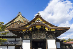 城堡nijo ninomaru宫殿 免版税库存照片
