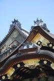 城堡nijo ninomaru宫殿 库存照片
