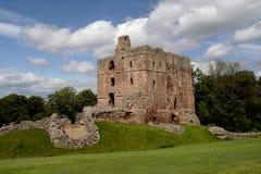 城堡norham 免版税库存图片