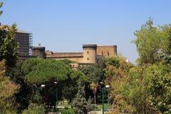 城堡Nuovo,意大利 库存图片