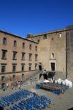 城堡Nuovo,意大利 免版税库存照片