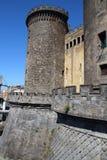 城堡Nuovo,意大利 免版税库存图片