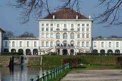 城堡nymphenburg 免版税库存图片