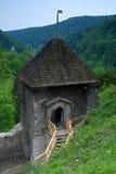 城堡ojcow 免版税图库摄影