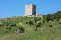 城堡olsztyn 免版税库存图片