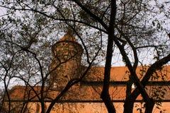 城堡olsztyn 库存照片