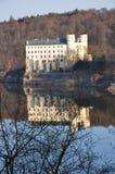 城堡orlik 图库摄影
