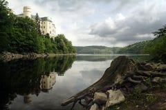 城堡orlik 库存图片