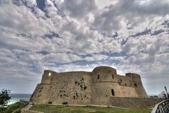 城堡ortona 库存照片