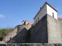 城堡palanok 免版税库存照片