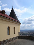城堡palanok 免版税库存图片