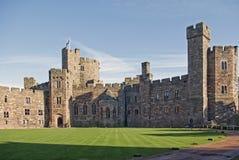 城堡peckforton 库存照片