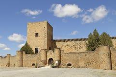 城堡pedraza 库存图片
