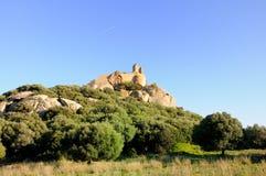 城堡pedres 库存照片