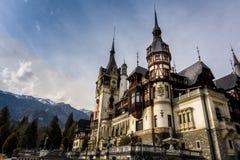 城堡peles罗马尼亚 库存图片