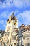城堡peles罗马尼亚sinaia 免版税库存照片