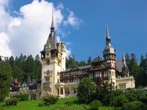 城堡peles 图库摄影