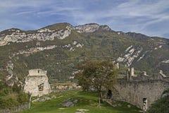 城堡Penede废墟  免版税库存照片