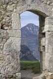 城堡Penede废墟  免版税库存图片