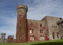 城堡penrhyn 库存照片