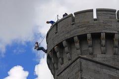 城堡penrhyn 免版税图库摄影