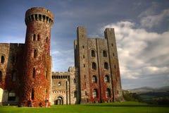 城堡penrhyn 免版税库存照片