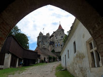 城堡Pernstejn 库存图片