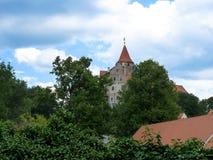 城堡Pernstejn 图库摄影