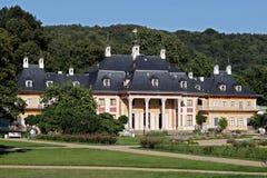 城堡pillnitz 免版税图库摄影