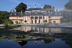 城堡pillnitz 图库摄影