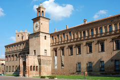 城堡pio 免版税图库摄影