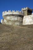 城堡populonia 图库摄影